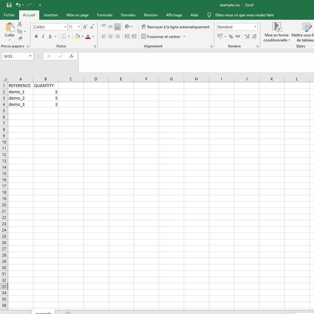 module - Data Import & Export - import cart CSV / Excel - 4