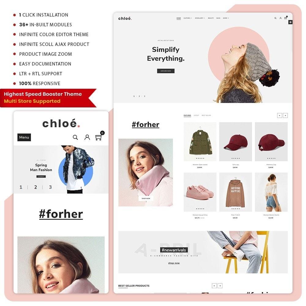 theme - Fashion & Shoes - Chloe Mode - dieArt Mall Premium - 1