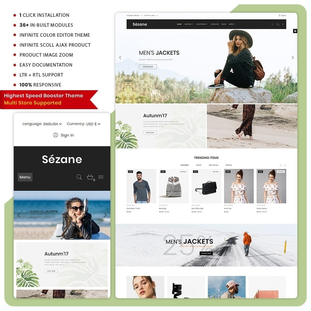 theme - Mode & Schoenen - Sezane Fashion Mall - 1