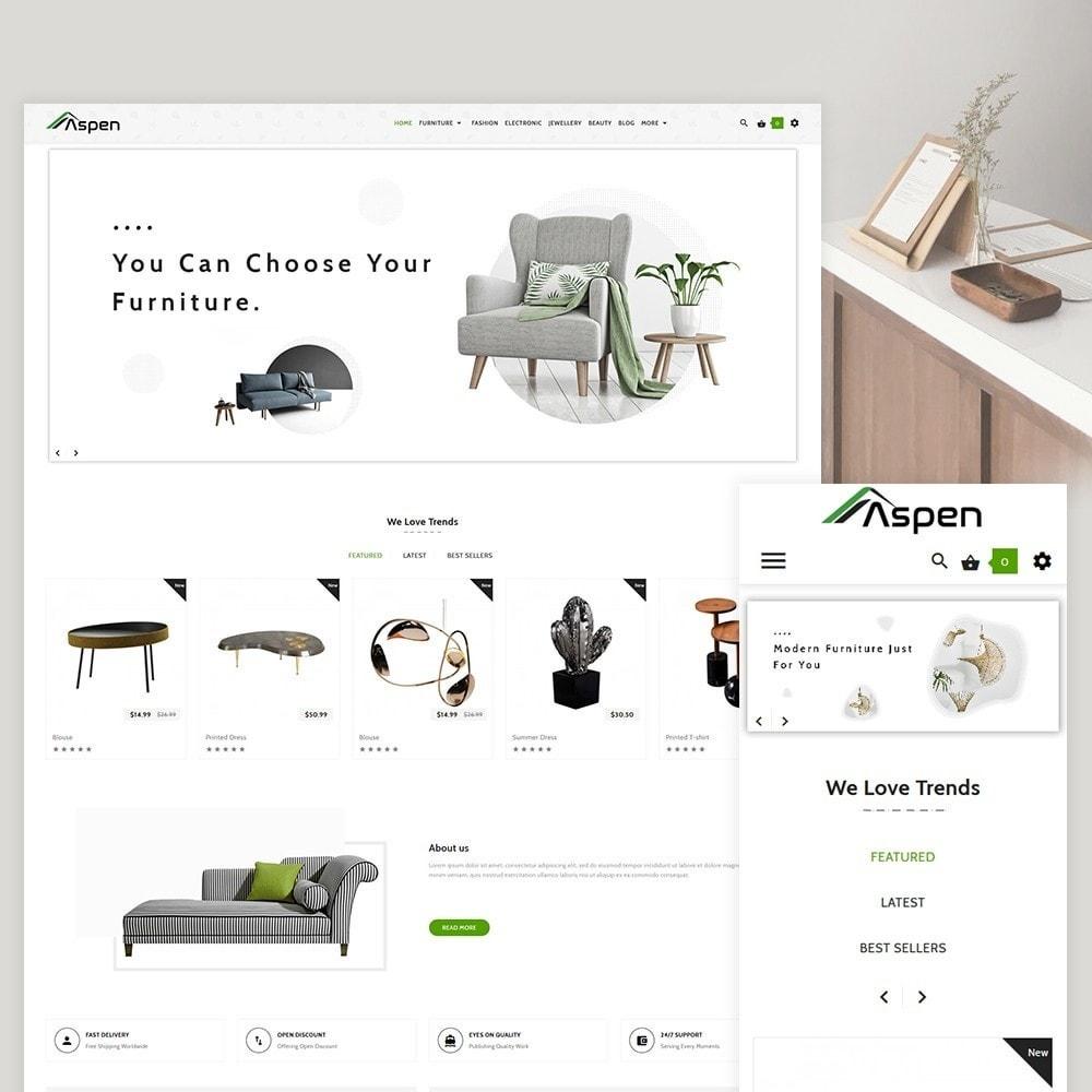 theme - Home & Garden - Aspen Furniture Decor Shop - 2