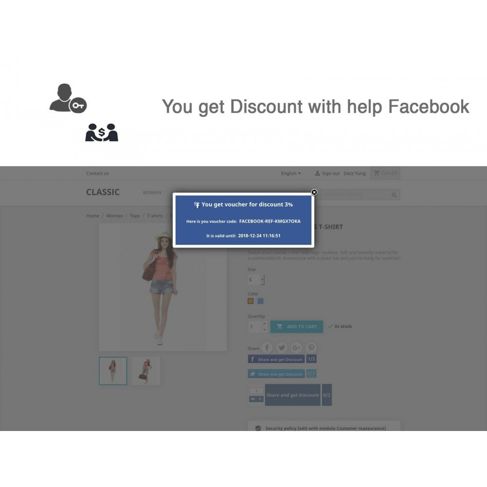 module - Social Rewards & Coupons - Social Referrals + Connects (3 in 1) - 19