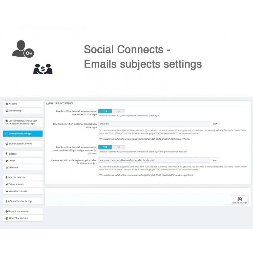 module - Social Rewards & Coupons - Social Referrals + Connects (3 in 1) - 35