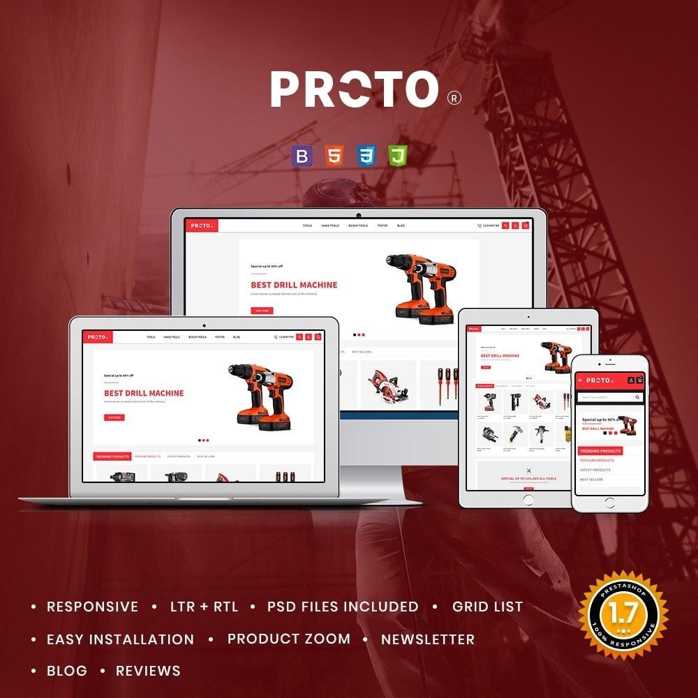 theme - Automotive & Cars - Proto Tools Shop - 1