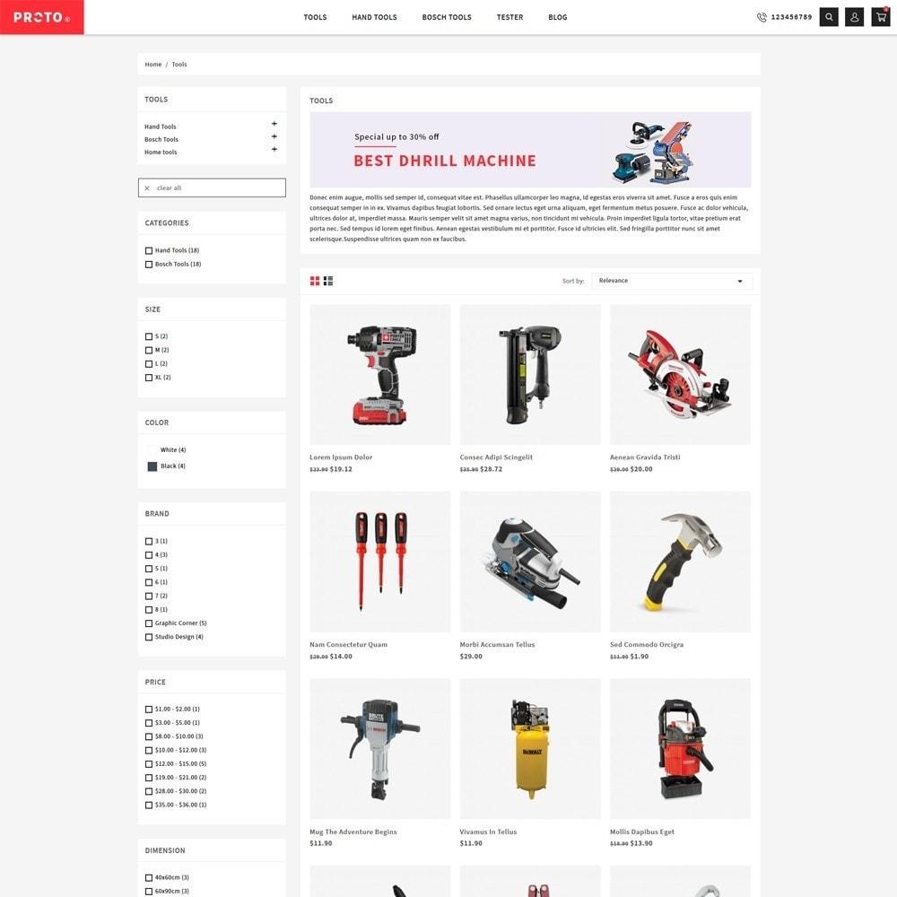 theme - Automotive & Cars - Proto Tools Shop - 3