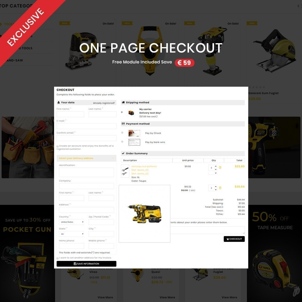theme - Coches y Motos - Toolscart - Mega Tools Store Template - 2