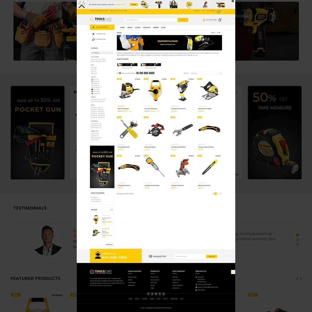 theme - Coches y Motos - Toolscart - Mega Tools Store Template - 11