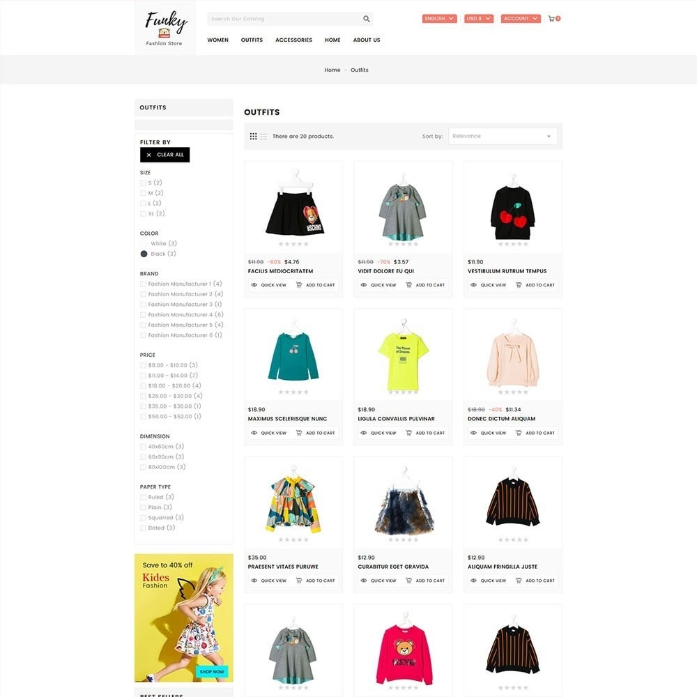 theme - Moda & Obuwie - Funky Kids Fashion Store - 5