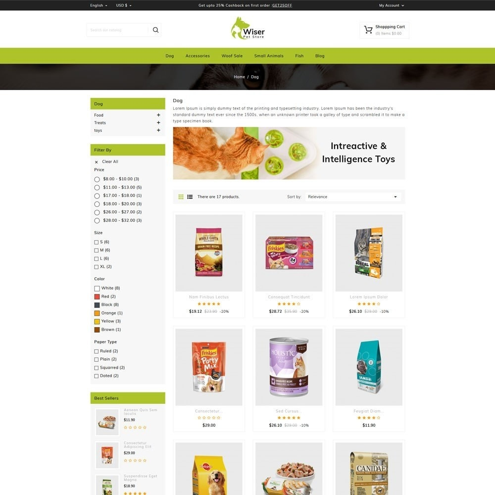 theme - Animales y Mascotas - Wiser Pets Store - 3