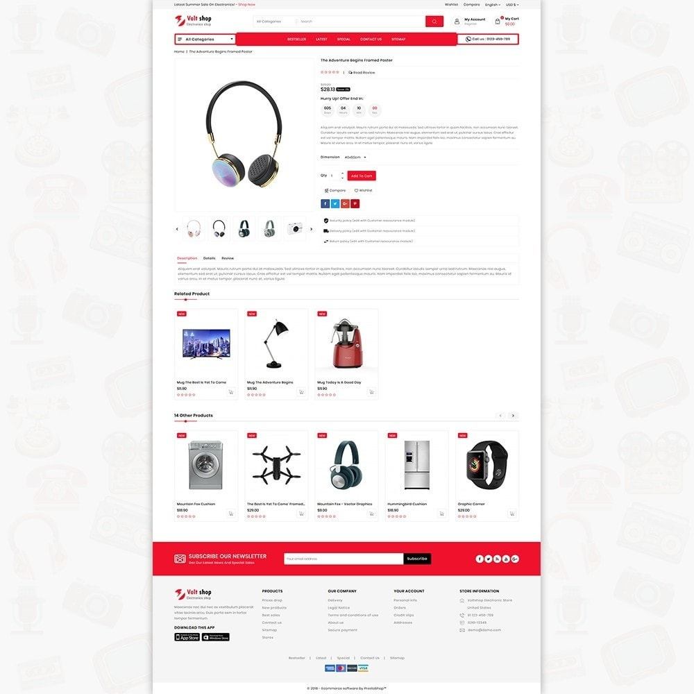 theme - Elettronica & High Tech - VoltShop - The Electronics Store - 5