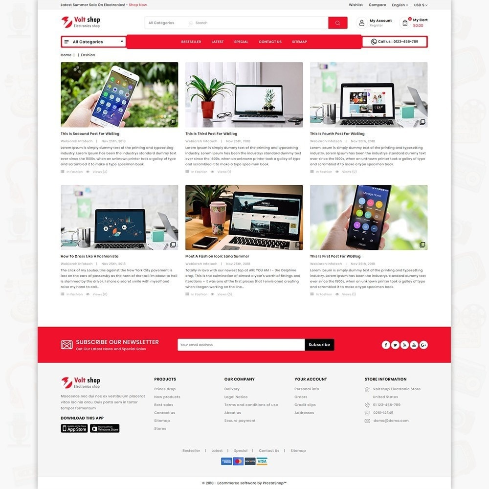 theme - Elettronica & High Tech - VoltShop - The Electronics Store - 6