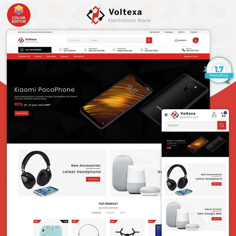theme - Electronics & Computers - Voltexa - The Best Electronics Store - 1