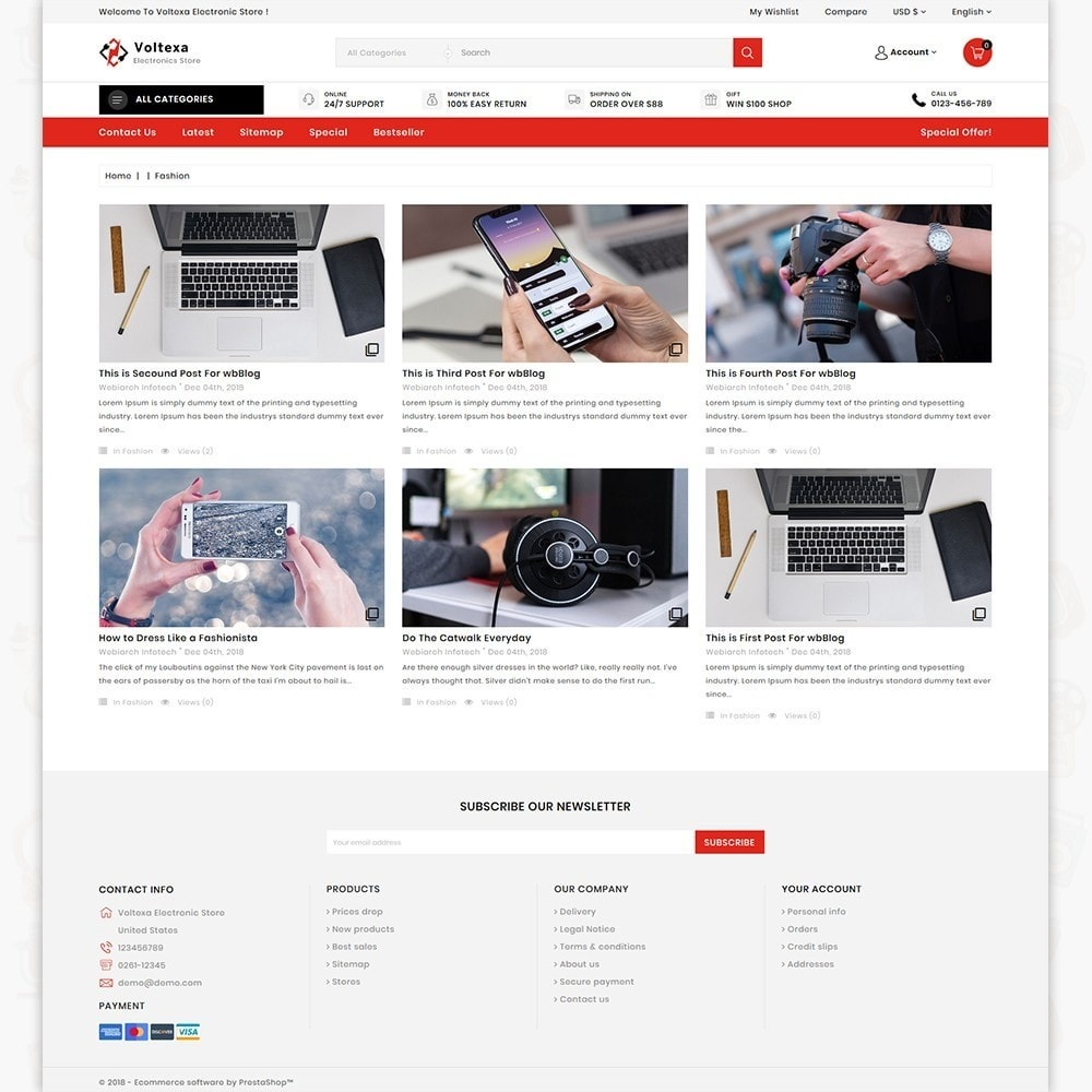 theme - Electronics & Computers - Voltexa - The Best Electronics Store - 6