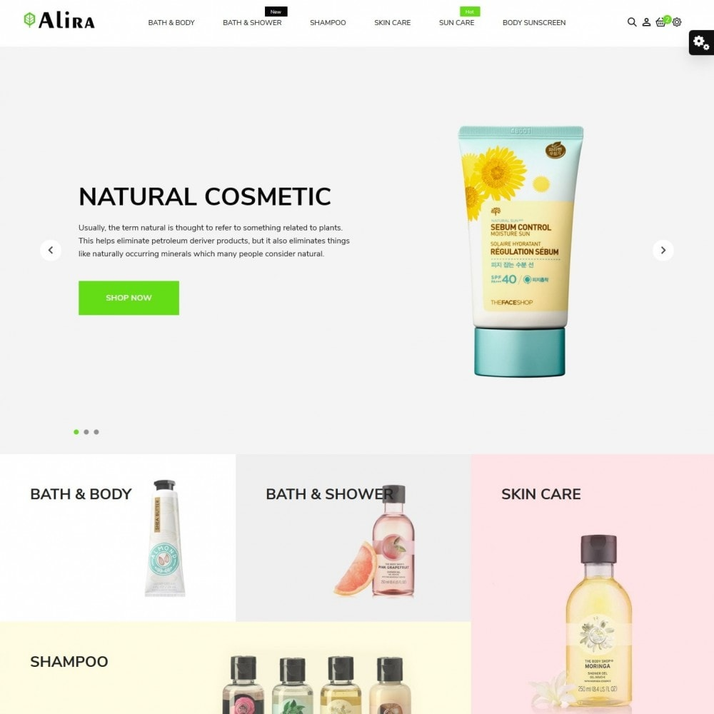 theme - Health & Beauty - Alira Cosmetics - 2