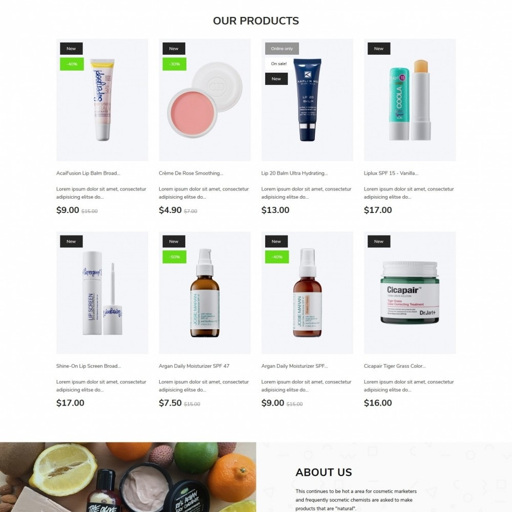 theme - Health & Beauty - Alira Cosmetics - 3
