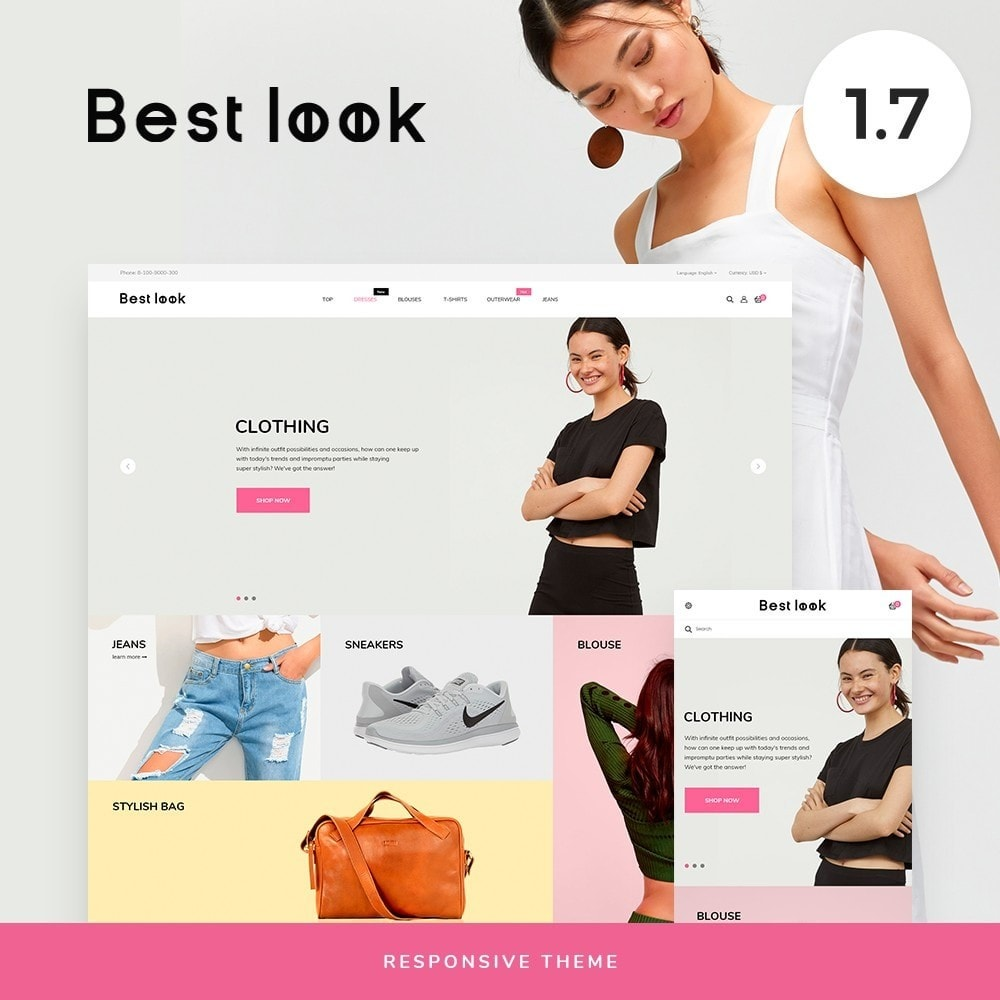 theme - Fashion & Shoes - Best look Fashion Store - 1