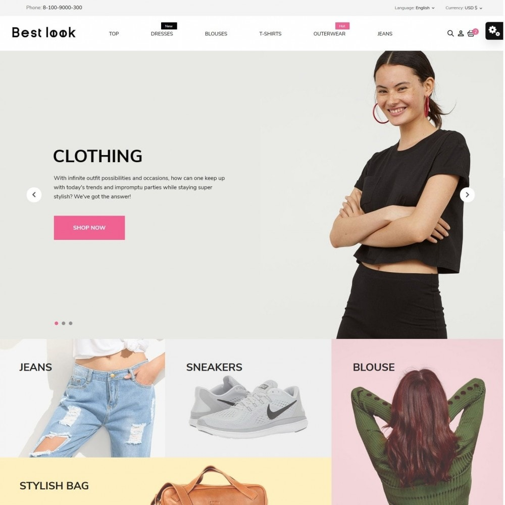 theme - Fashion & Shoes - Best look Fashion Store - 2
