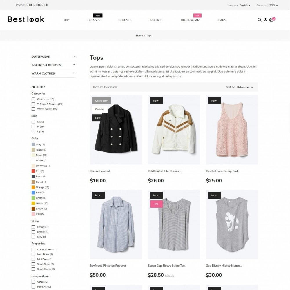 theme - Fashion & Shoes - Best look Fashion Store - 5