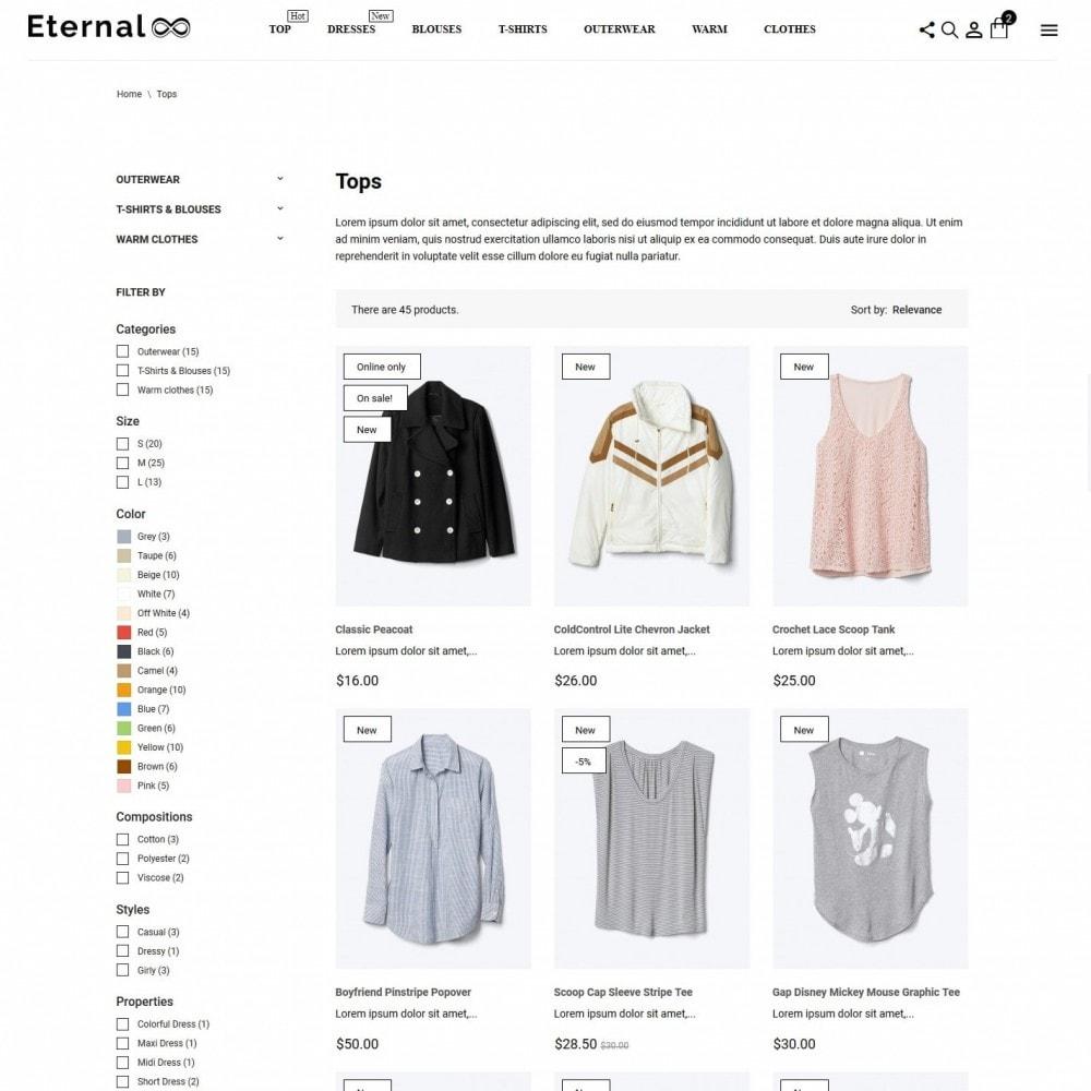 theme - Fashion & Shoes - Eternal Fashion Store - 5
