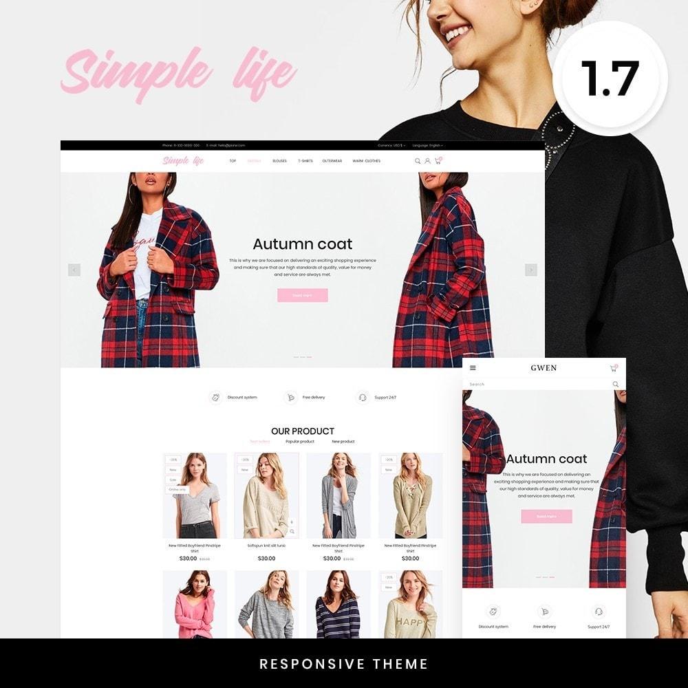 theme - Fashion & Shoes - Simple life Fashion Store - 1