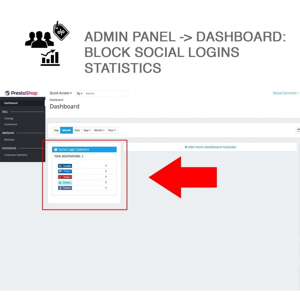 module - Social Network Coupon - Social Login - Paypal, Google, Twitter, LinkedIn, ... - 12