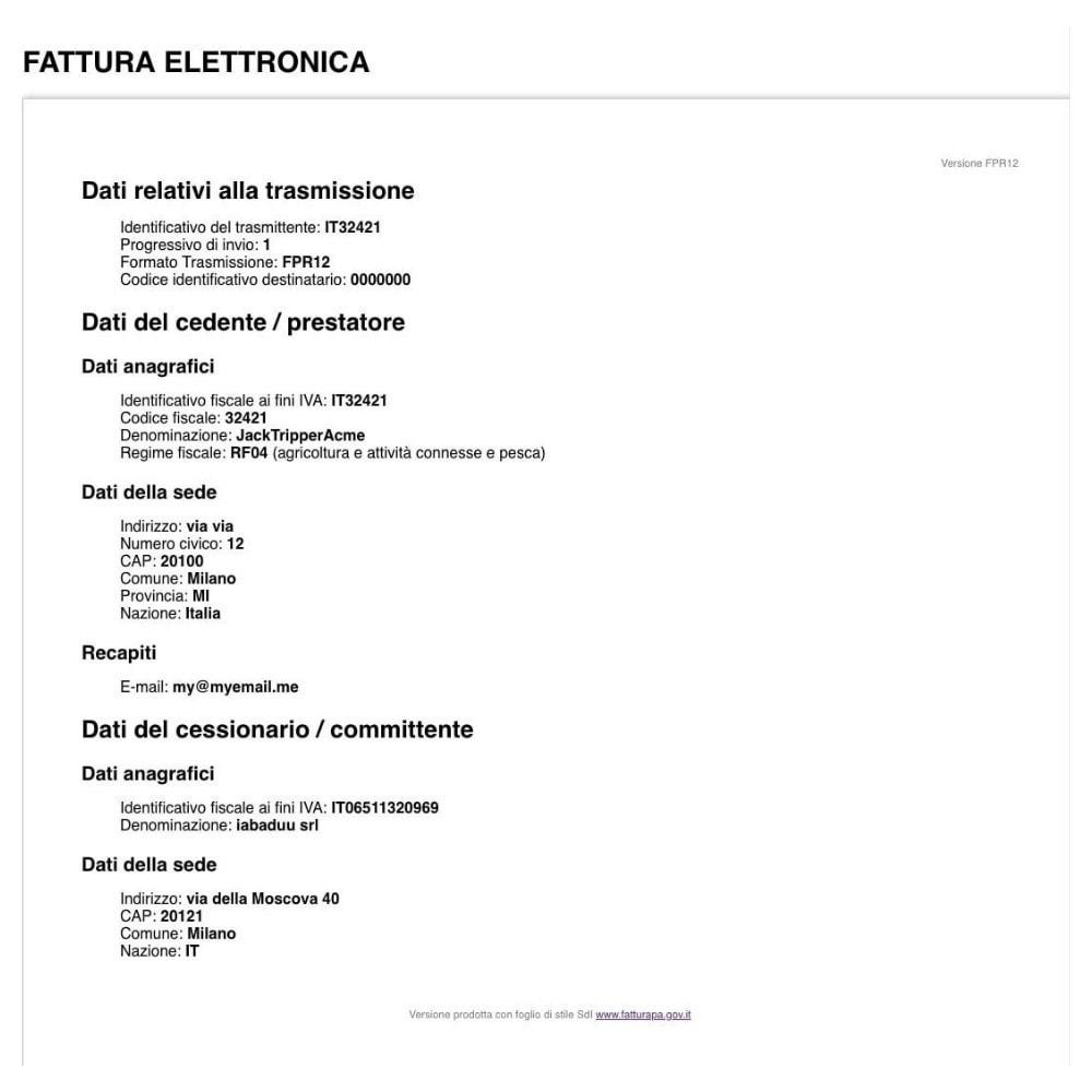 module - Contabilidad y Facturas - Digital invoice XML - 2