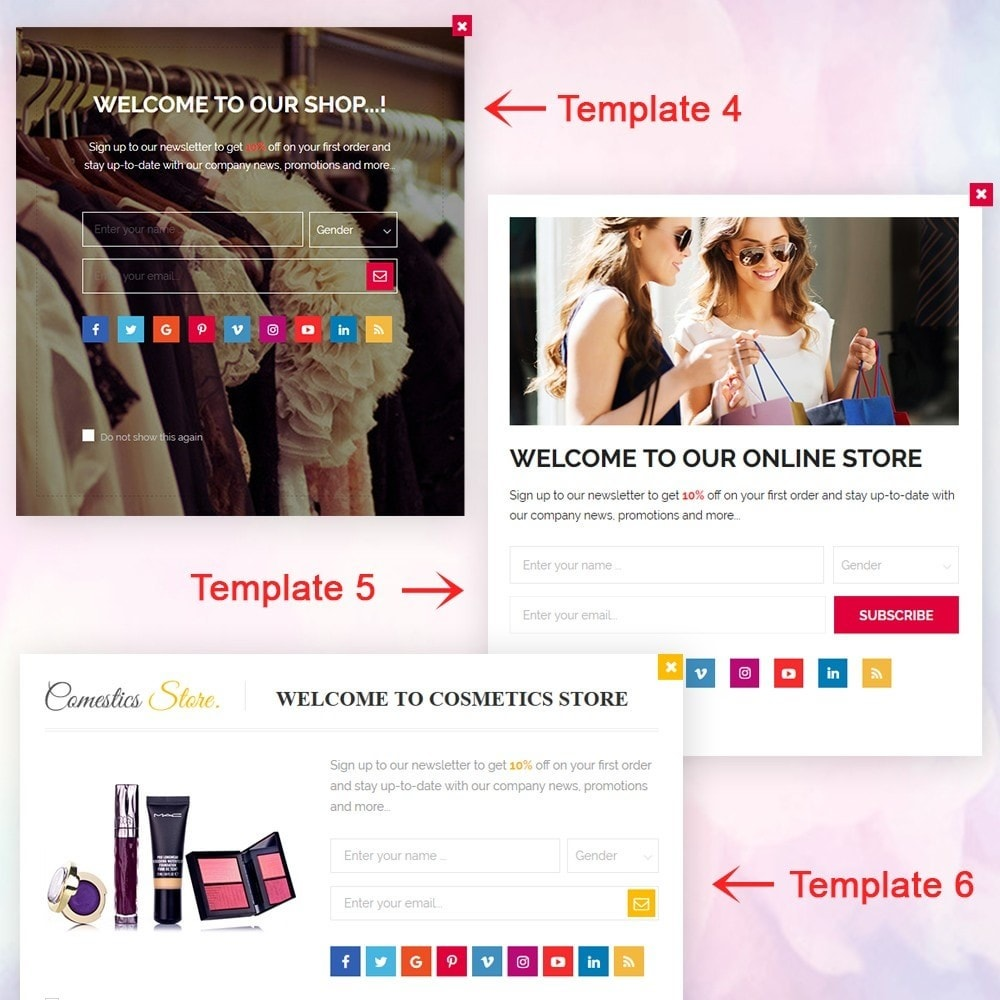 module - Pop-up - Responsive newsletter popup - 3