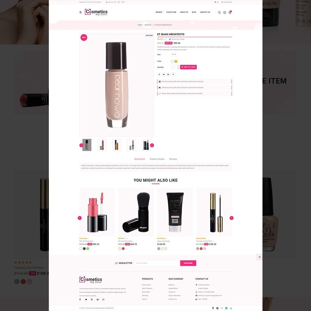 theme - Health & Beauty - Cosmetics– Cosmetics & beauty & health Store - 12