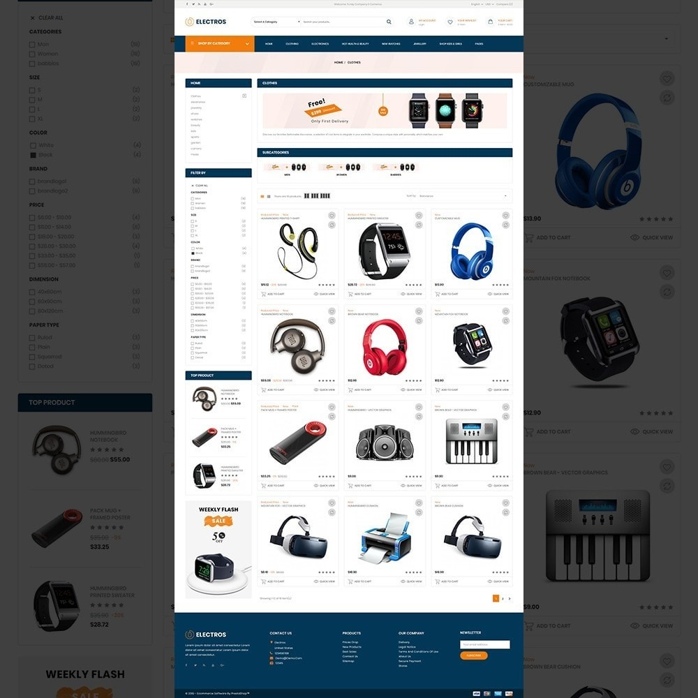 theme - Electronique & High Tech - Electros – Multipurpose Electronic Store - 12