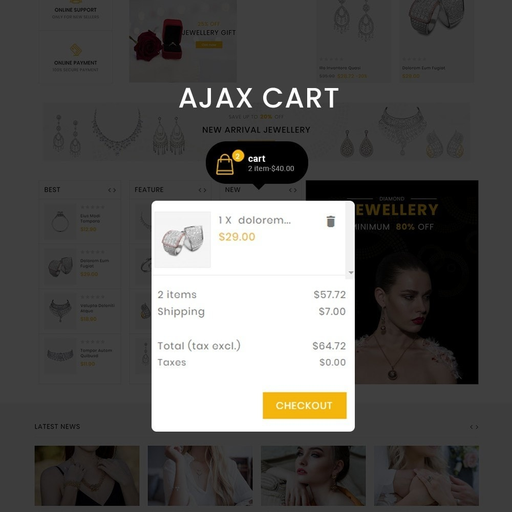 theme - Biżuteria & Akcesoria - Jewelmart– Multipurpose jewellery Store - 5