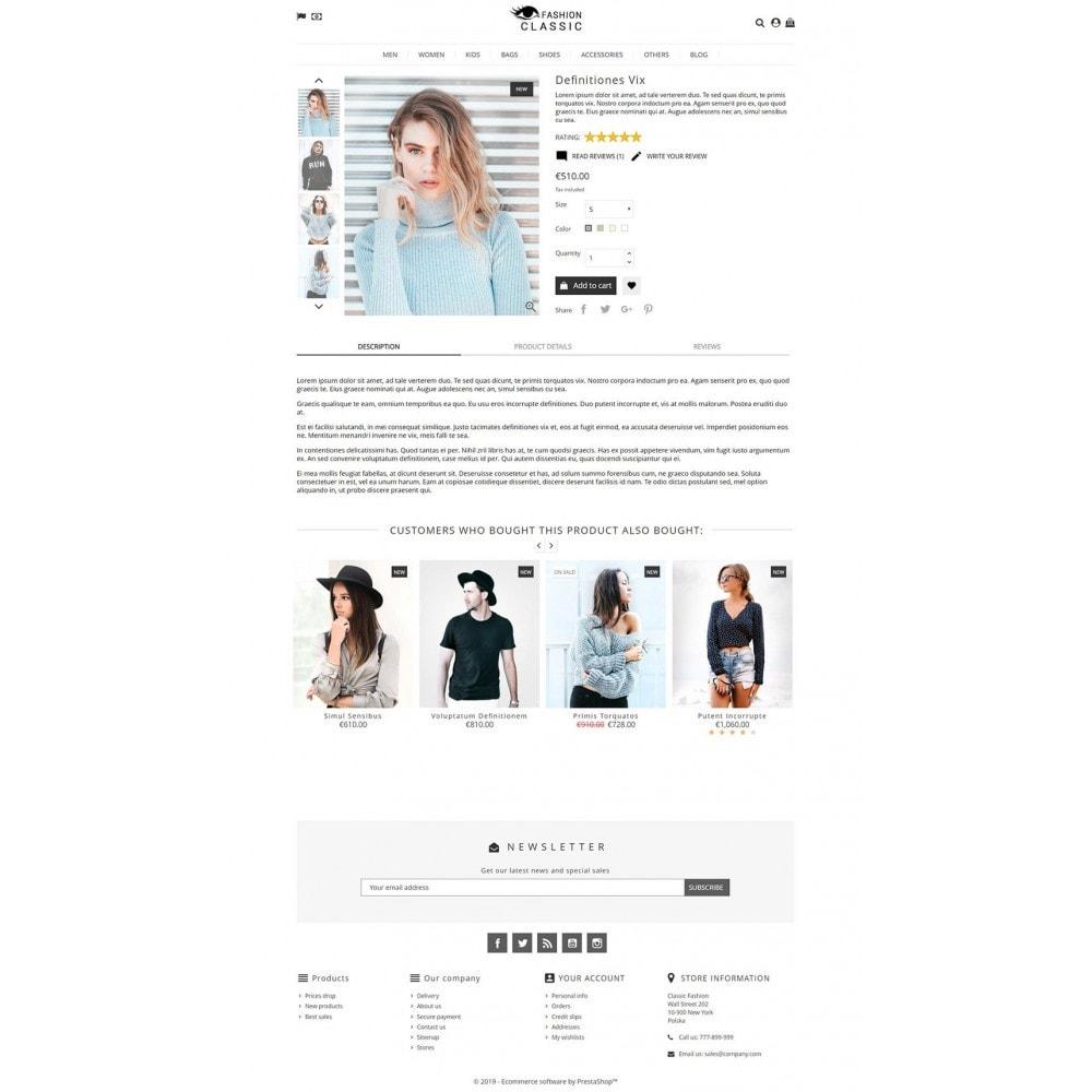 theme - Moda & Calçados - Classic Fashion - 3
