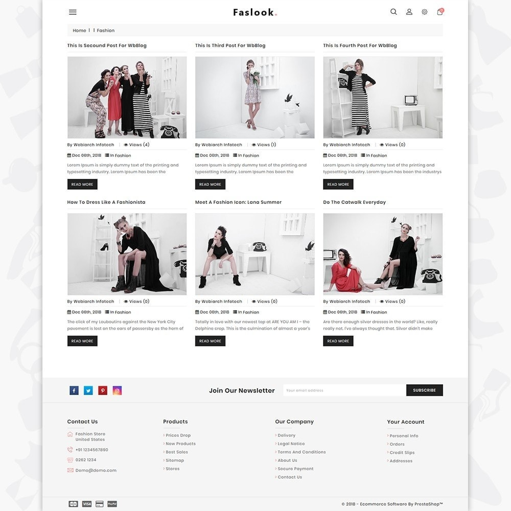 theme - Moda & Calzature - Fashlook - The Fashion Store - 6