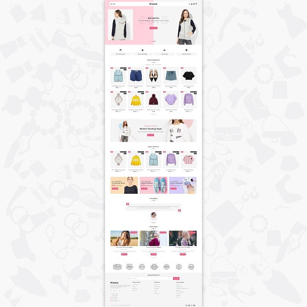 theme - Mode & Schuhe - Mizzeo - The Fashion Store - 2