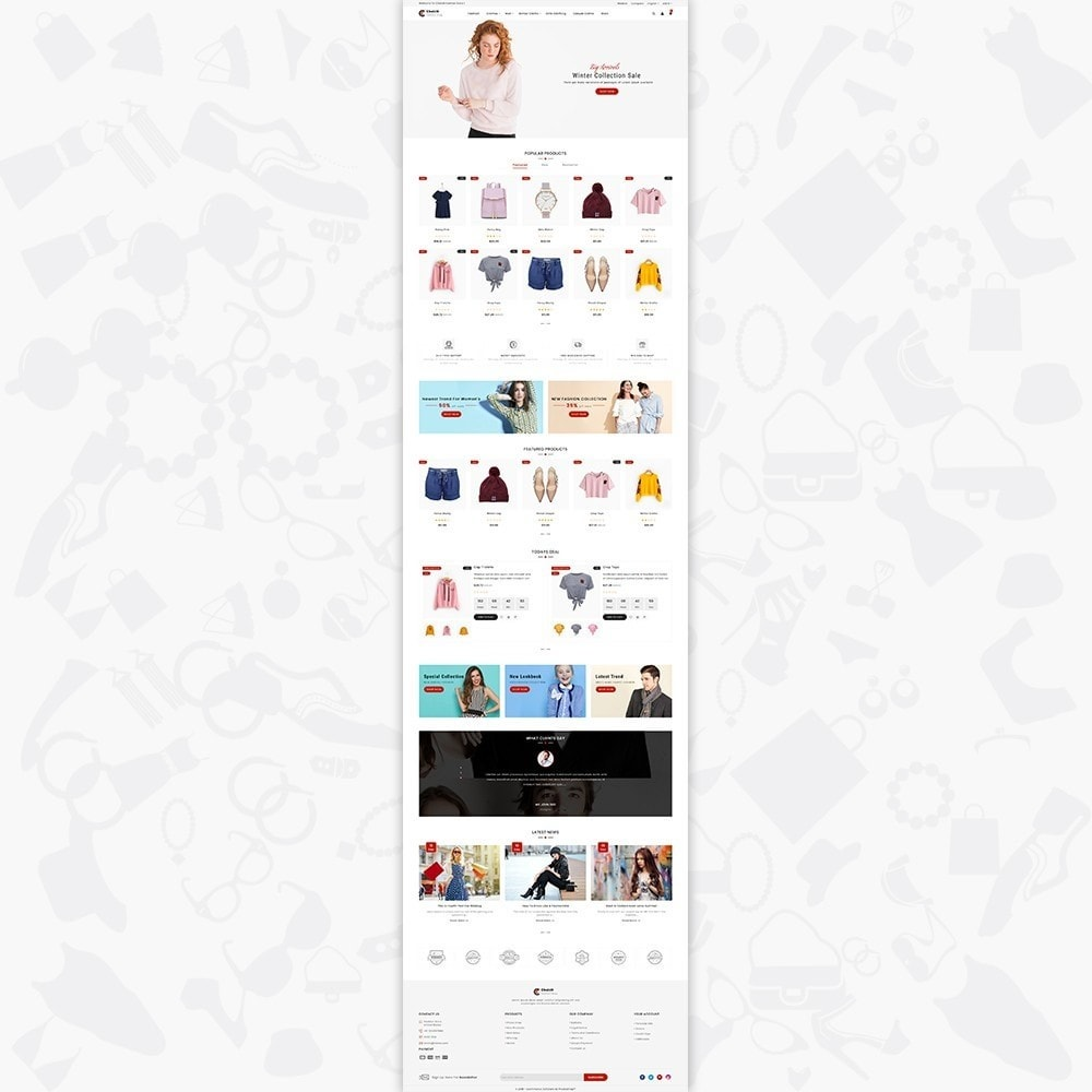 theme - Fashion & Shoes - Choicit  - The Fashion Store - 2