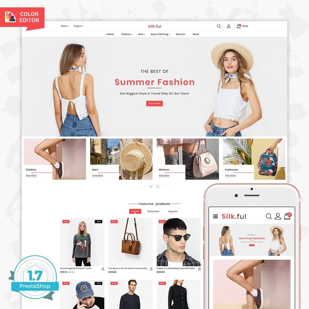 theme - Moda & Calzature - Silk.ful - The Fashion Store - 1