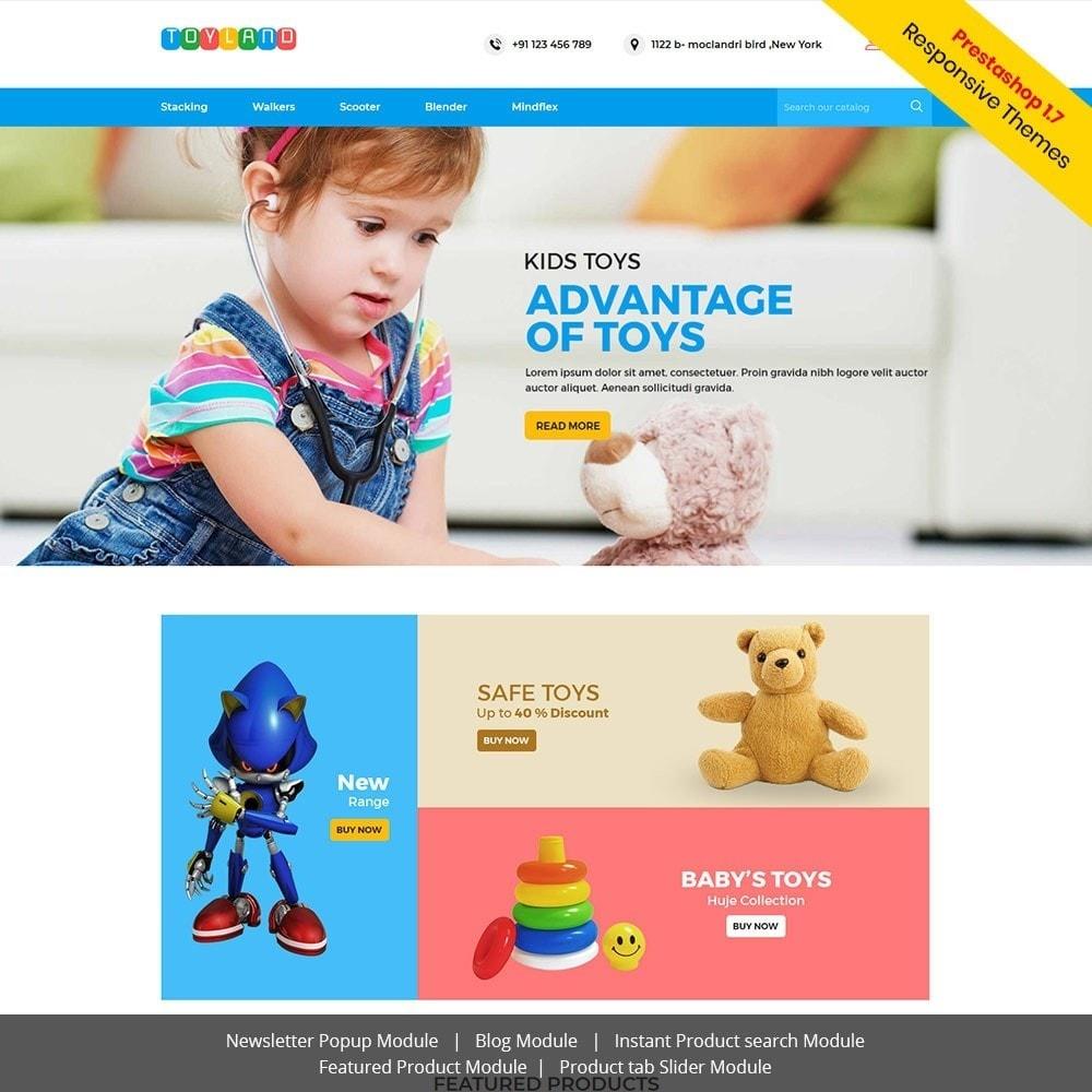 theme - Дети и Игрушки - Toyland - Магазин игрушек для детей - 1