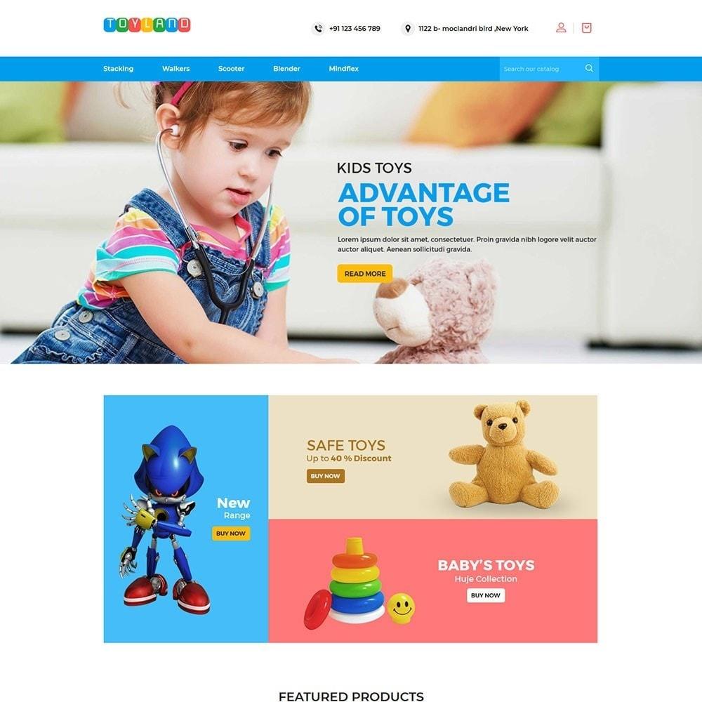 theme - Kids & Toys - Toyland - Toy Kids Store - 2