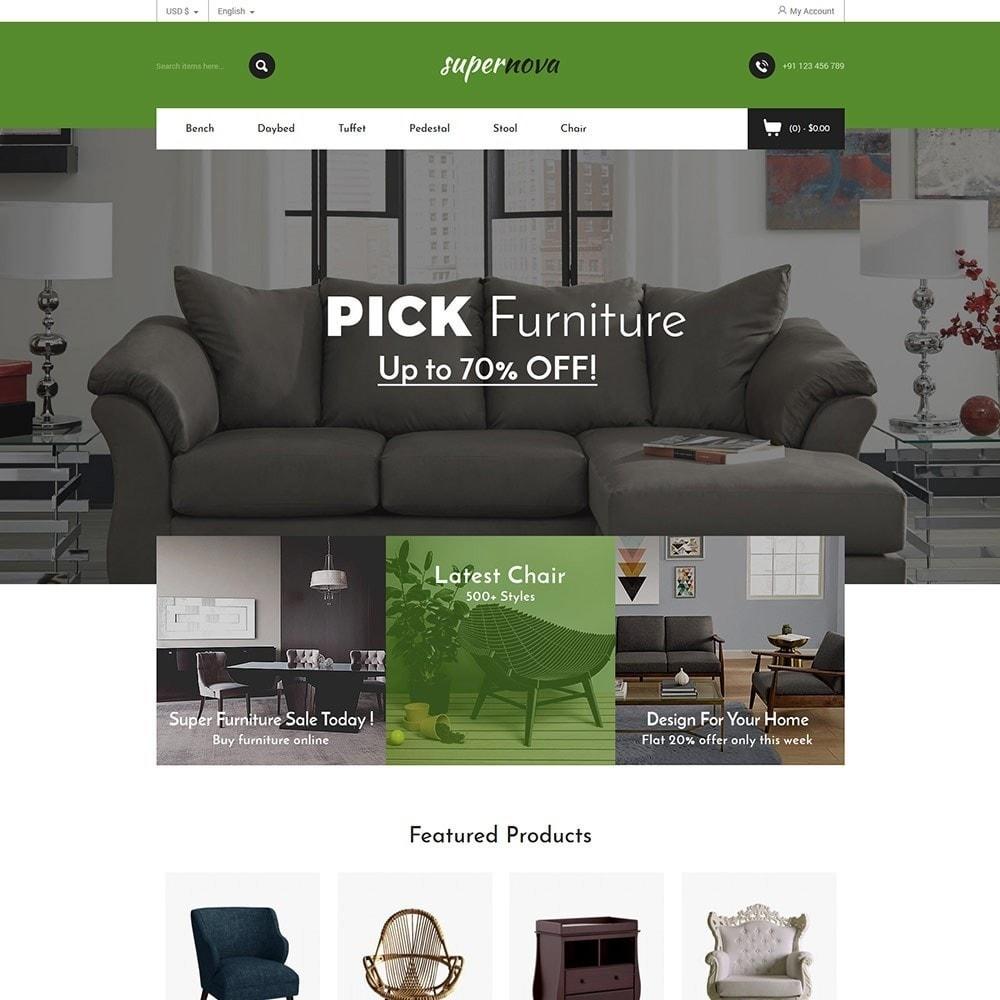 theme - Home & Garden - Super Nova  - Furniture Store - 2