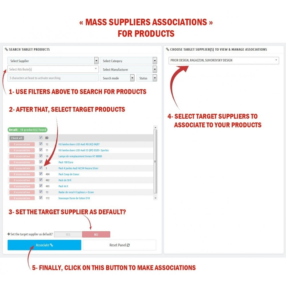 module - Fast & Mass Update - WK Mass Suppliers Assignments For Products - 3