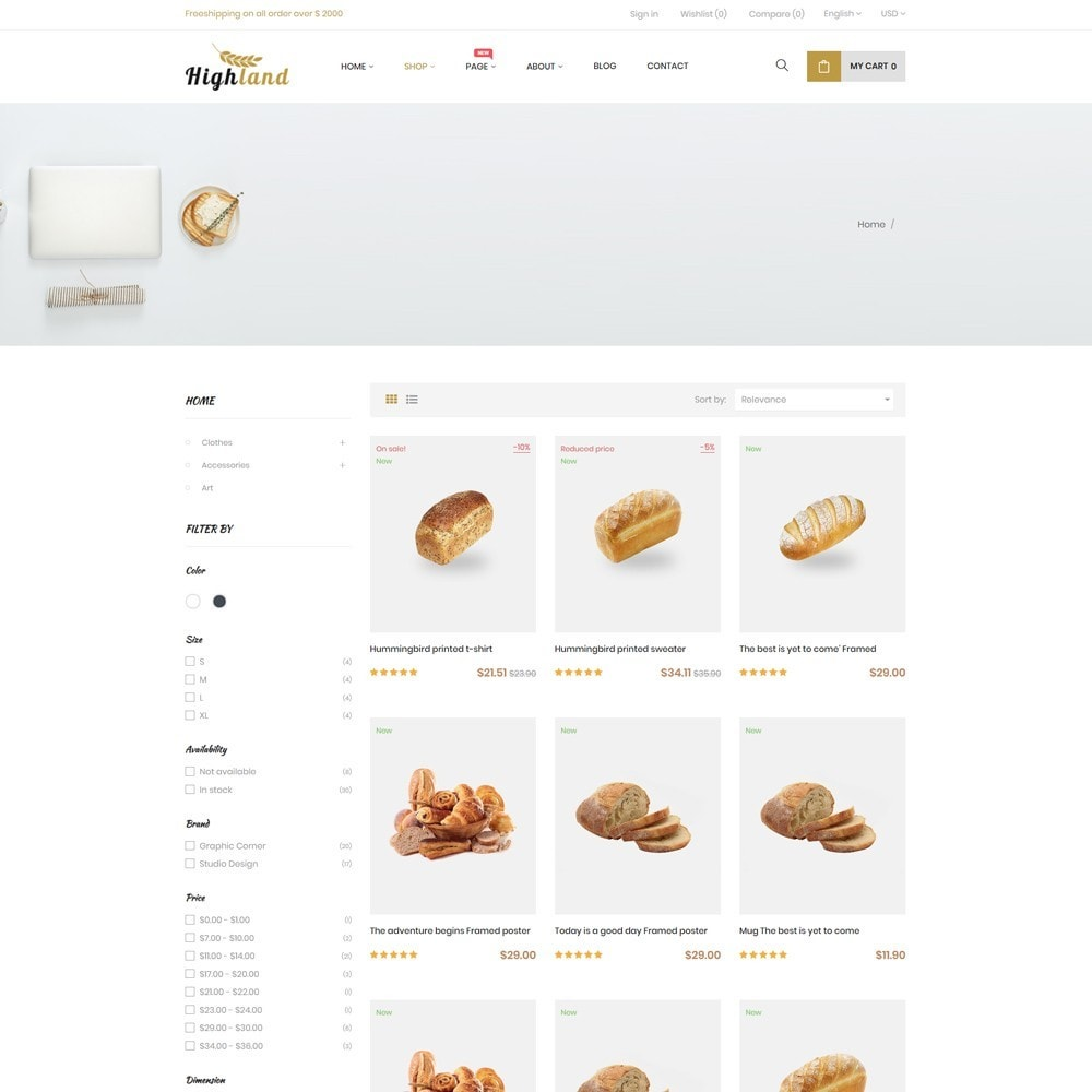 theme - Food & Restaurant - Bos Highlands Food & Drink Store - 4