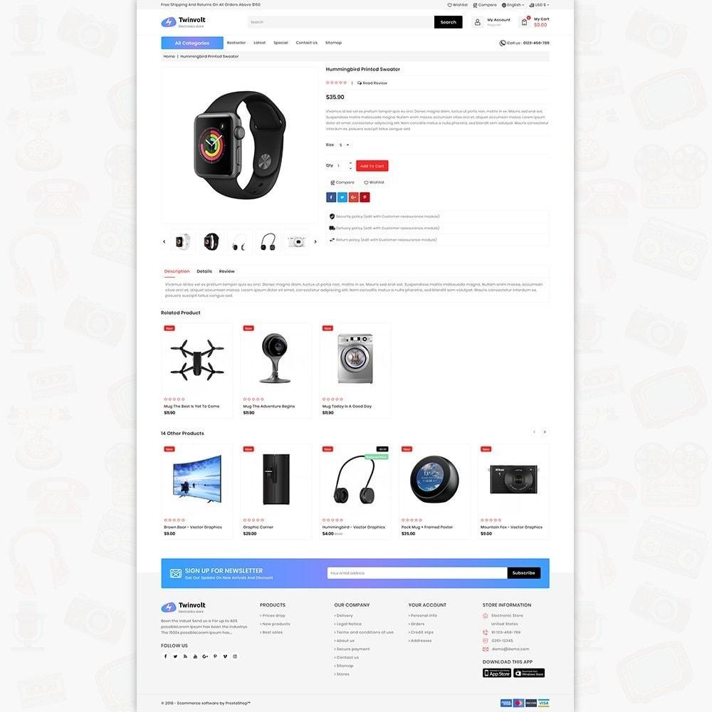 theme - Electrónica e High Tech - Twinvolt - Supermarket Hitech Store - 3