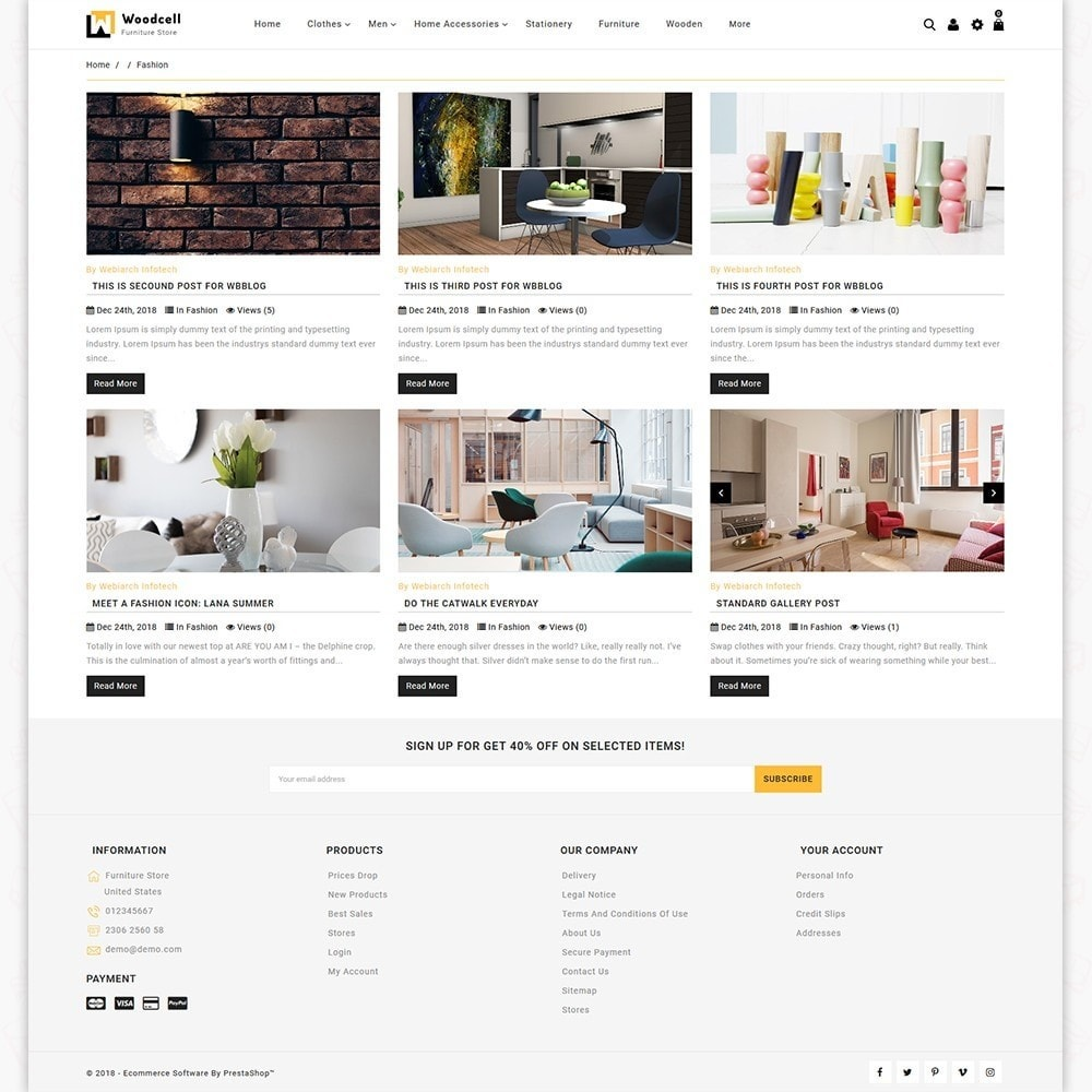 theme - Casa & Jardins - WoodCell - The Furniture Store - 6