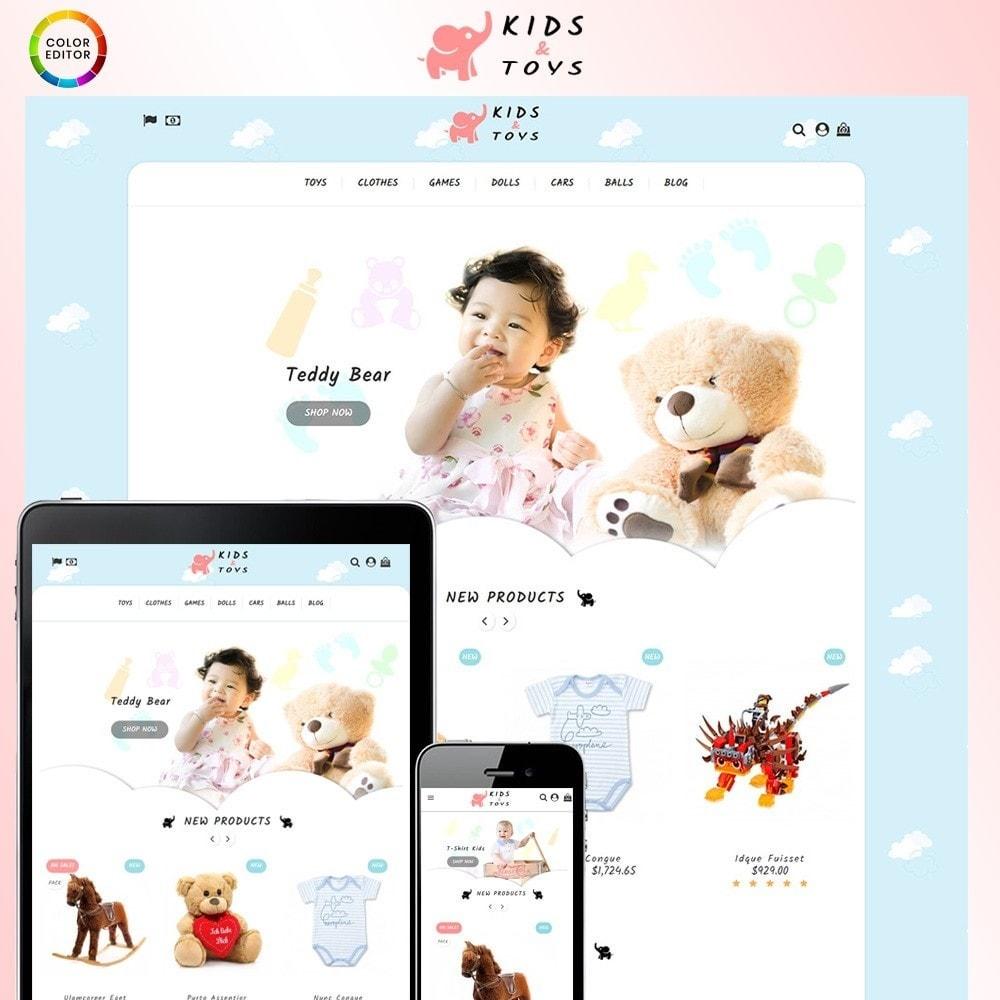 theme - Zabawki & Artykuły dziecięce - Kids & Toys Store - 1