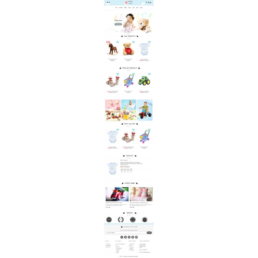 theme - Enfants & Jouets - Kids & Toys Store - 4