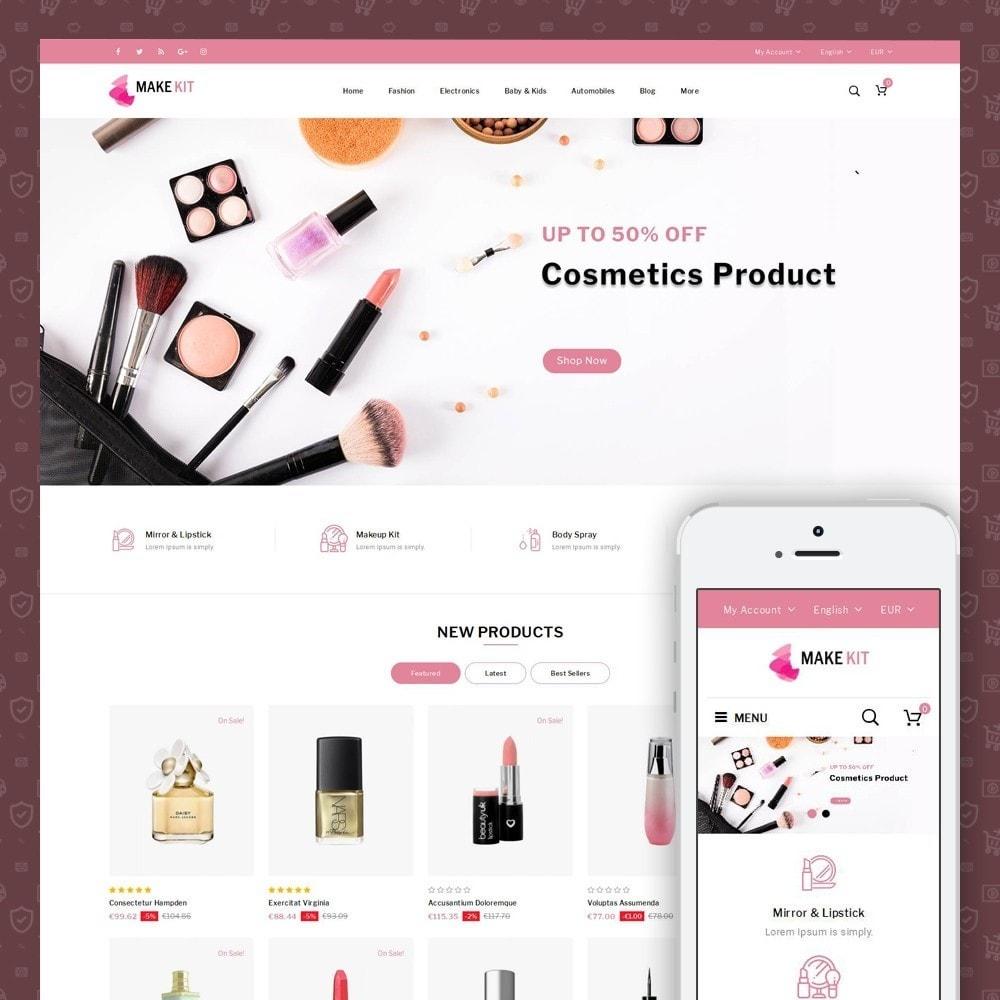 theme - Saúde & Beleza - Make Kit - Beauty Store - 1