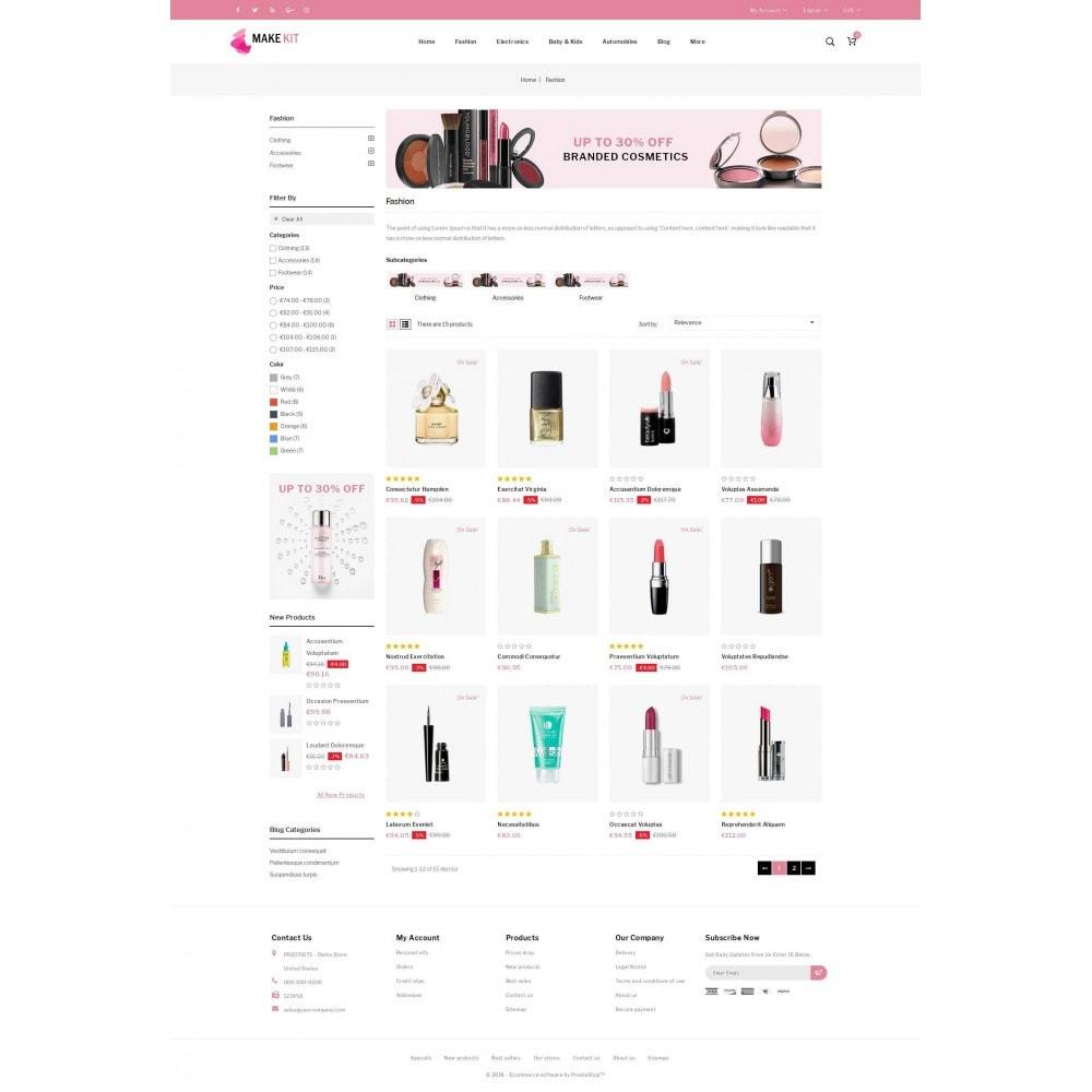 theme - Saúde & Beleza - Make Kit - Beauty Store - 3
