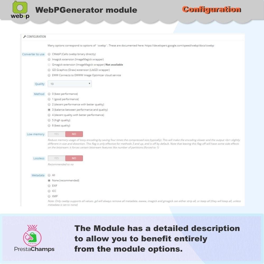 module - Visualizzazione Prodotti - Google WebP Immagine Generatore - 8