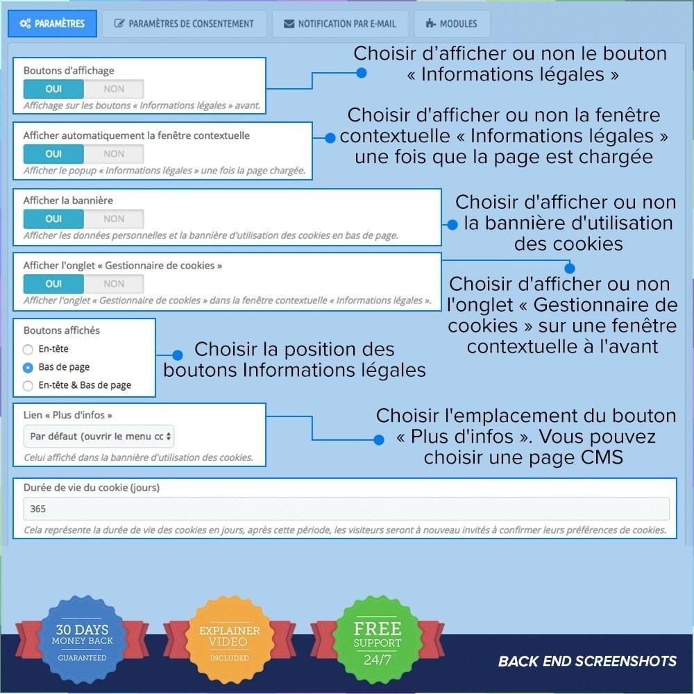 module - Législation - Règlement Général sur la Protection des Données - 2