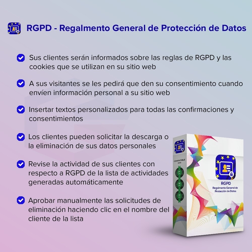 module - Marco Legal (Ley Europea) - GDPR UE - Regalmento General de Protección de Datos - 1