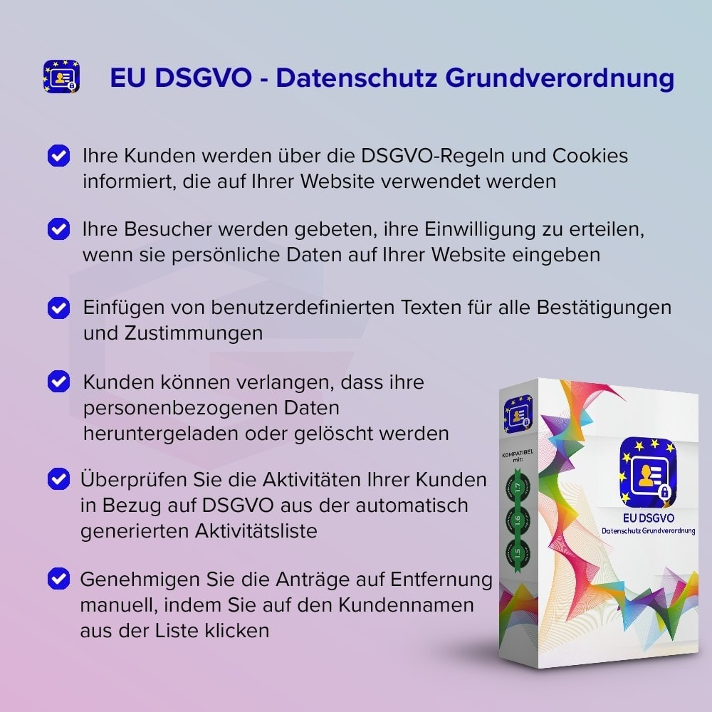 bundle - Rechtssicherheit - Starter Kit - GDPR, One Click SSL, One Signal Push - 1