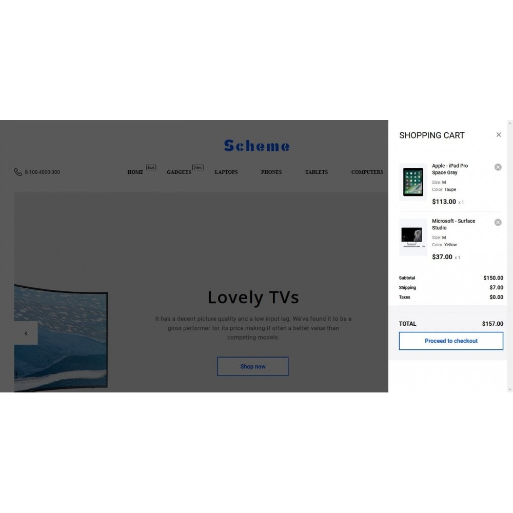 theme - Electronics & Computers - Scheme - High-tech Shop - 7